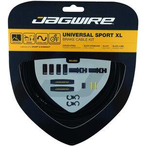 Jagwire Sport XL Universal Bremszugset für Shimano/SRAM schwarz