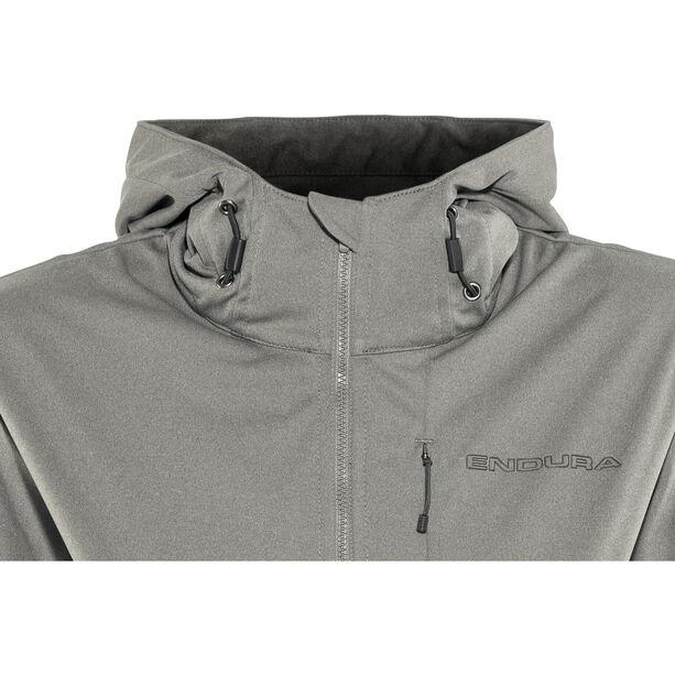 Endura Singletrack II Softshell Jacke Damen zinn-grau