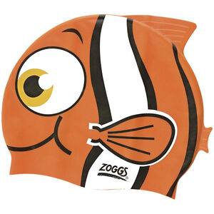Zoggs Character Silicone Cap Kinder orange orange