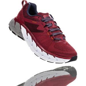 Hoka One One Gaviota 2 Running Shoes Herren rio red/dark slate rio red/dark slate