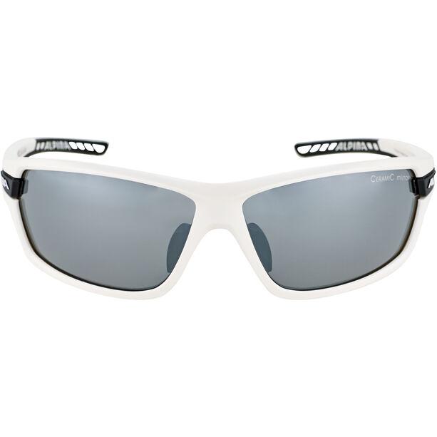 Alpina Tri-Scray 2.0 Brille white matt-black/black mirror