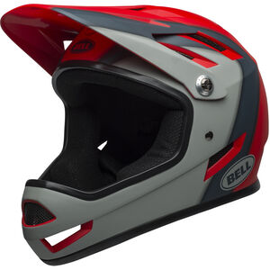 Bell Sanction Helmet presences matte crimson/slate/dark gray presences matte crimson/slate/dark gray