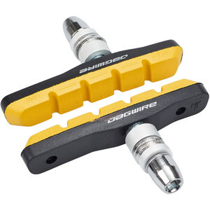 Jagwire Mountain Sport Bremsschuhe 1 Paar gelb gelb