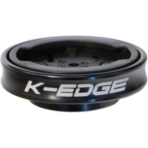K-EDGE Garmin Gravity Cap Vorbau Halterung schwarz schwarz