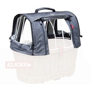 KlickFix Haube für Doggy Basket grau grau