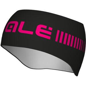 Alé Cycling Strada Headband black-fl magenta black-fl magenta