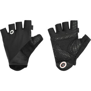 assos summerGloves_S7 Unisex Black Volkanga