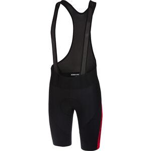 Castelli Velocissimo IV Bib Shorts Herren black/red black/red