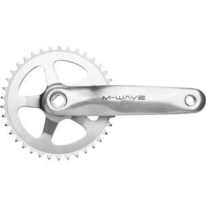 M-ighty Kurbelgarnitur 1fach 38 Zähne Alu/Stahl silber bei fahrrad.de Online