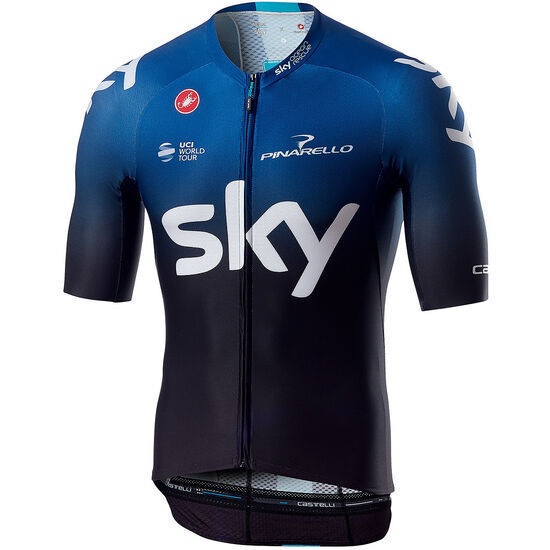 Castelli Team Sky Aero Race 6.0 FZ Jersey Men bei fahrrad.de Online