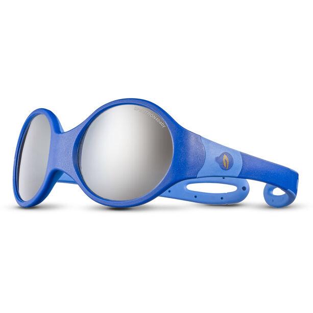 Julbo Loop L Spectron 4 Sonnenbrille Kinder dark blue/blue/grey flash silver