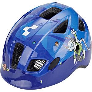 Cube Pebble Helm Juniors blue universe