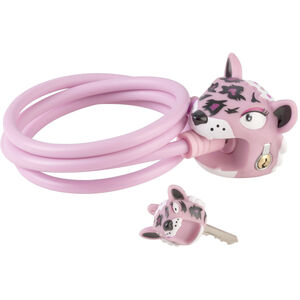 Crazy Safety Leopard Schloß 120/8 pink pink