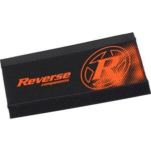 Reverse Neopren Kettenstrebenschutz schwarz/fox-orange