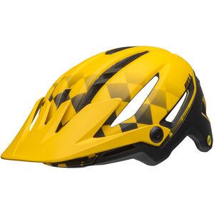 Bell Sixer MIPS Helmet finish line matte yellow/black finish line matte yellow/black