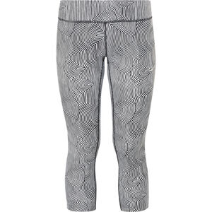 Nike Zen Epic Run 3/4 Length Tights Damen black/reflective silver black/reflective silver