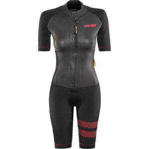 Colting Wetsuits Swimrun Go Wetsuit Damen black/red black/red