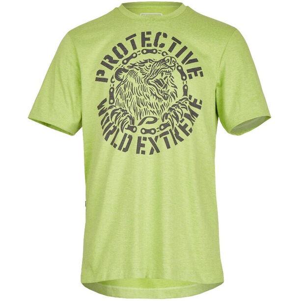 Protective Spirit Bear T-Shirt Herren green