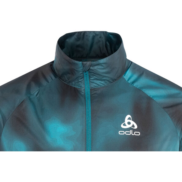 Odlo Omnius Light Jacket Men blue coral
