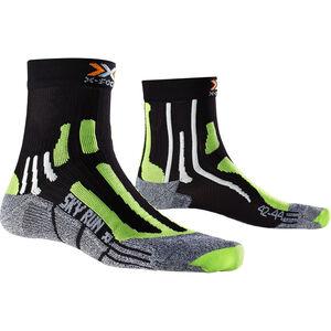X-Socks Sky Run V2.0 Socks Men Black/Green Lime/Moulinè