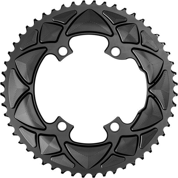 absoluteBLACK Road Kettenblatt 2-fach 110BCD für Shimano 9100/8000 black