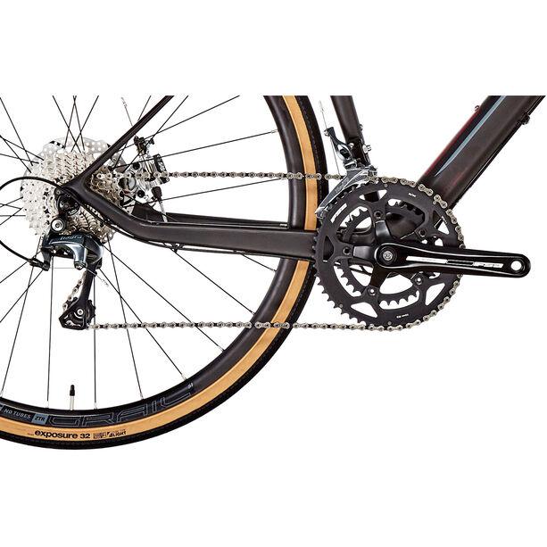 GT Bicycles Grade Carbon Elite satin black/wine red/wine red/grey