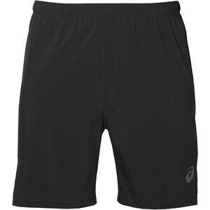 "asics Silver 7"" 2-in-1 Shorts Herren performance black performance black"