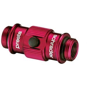 Lezyne ABS Flip Thread Chuck HV Ventilaufsatz rot-glänzend bei fahrrad.de Online