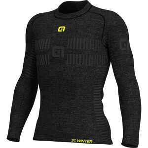 Alé Cycling Intimo Seamless Wool Shirt Damen grey grey