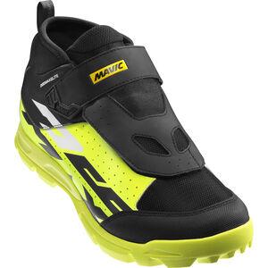 Mavic Deemax Elite Shoes Unisex Black/Safety Yellow/White bei fahrrad.de Online