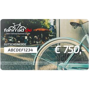 fahrrad.de Gift Voucher 750 €