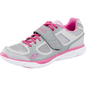 Giro Whynd Shoes Damen silver/rhodamine red silver/rhodamine red