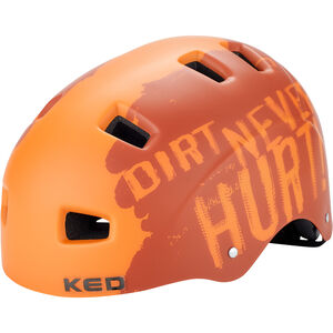 KED 5Forty Helmet Kinder dirt orange dirt orange