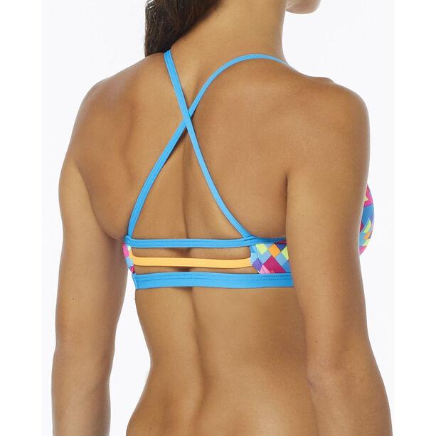 TYR Le Reve Trinity Bikini Top Damen pink/turquoise