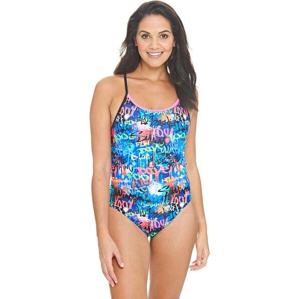 Zoggs Saber Starback Swimsuit Women