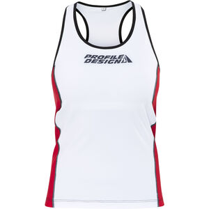 Profile Design ID Tri Top Damen red/white red/white