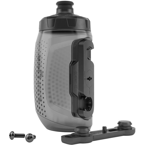 Fidlock Twist Bottle 450 incl. Mount black