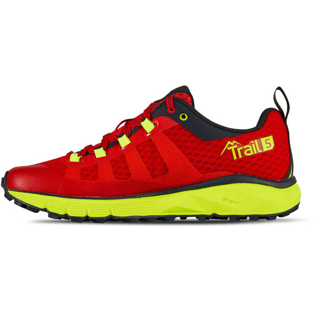 Salming Trail 5 Shoes Damen poppy red/safety yellow