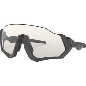 Oakley Flight Jacket Sunglasses grey ink/clear black iridium photo activated grey ink/clear black iridium photo activated
