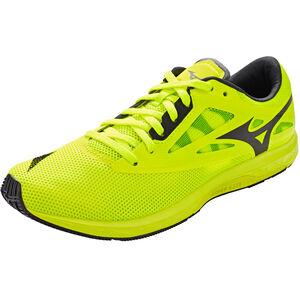 Mizuno Wave Sonic 2 Laufschuhe Herren safety yellow/black/white safety yellow/black/white