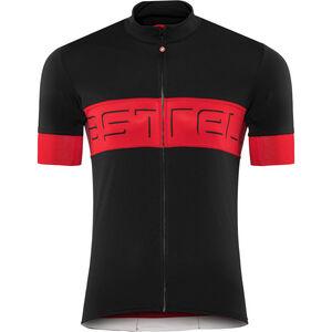 Castelli Prologo VI Jersey Herren black/red/black black/red/black