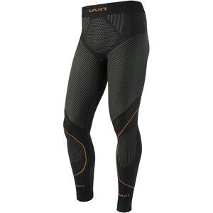 UYN Evolutyon UW Long Pants Herren charcoal/green/orange shiny charcoal/green/orange shiny