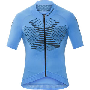 X-Bionic Twyce Biking Shirt SS Full Zip Men French Blue/Black bei fahrrad.de Online