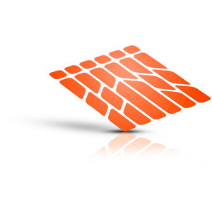 rie:sel design re:flex Reflektor orange orange