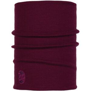 Buff Heavyweight Merino Wool Neck Tube purple raspberry purple raspberry