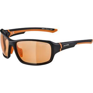 Alpina Lyron VL Glasses black matt-orange black matt-orange