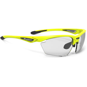 Rudy Project Stratofly Glasses yellow fluo gloss - impactx photochromic 2 black yellow fluo gloss - impactx photochromic 2 black