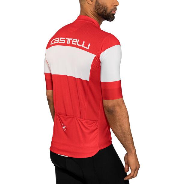 Castelli Ruota FZ Jersey Herren red