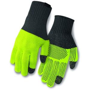 Giro Merino Wool Gloves grey/wild lime bei fahrrad.de Online