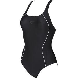 arena Flakes V Back One Piece Swimsuit Women black bei fahrrad.de Online